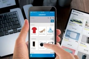 Background E-commerce ONCLICK